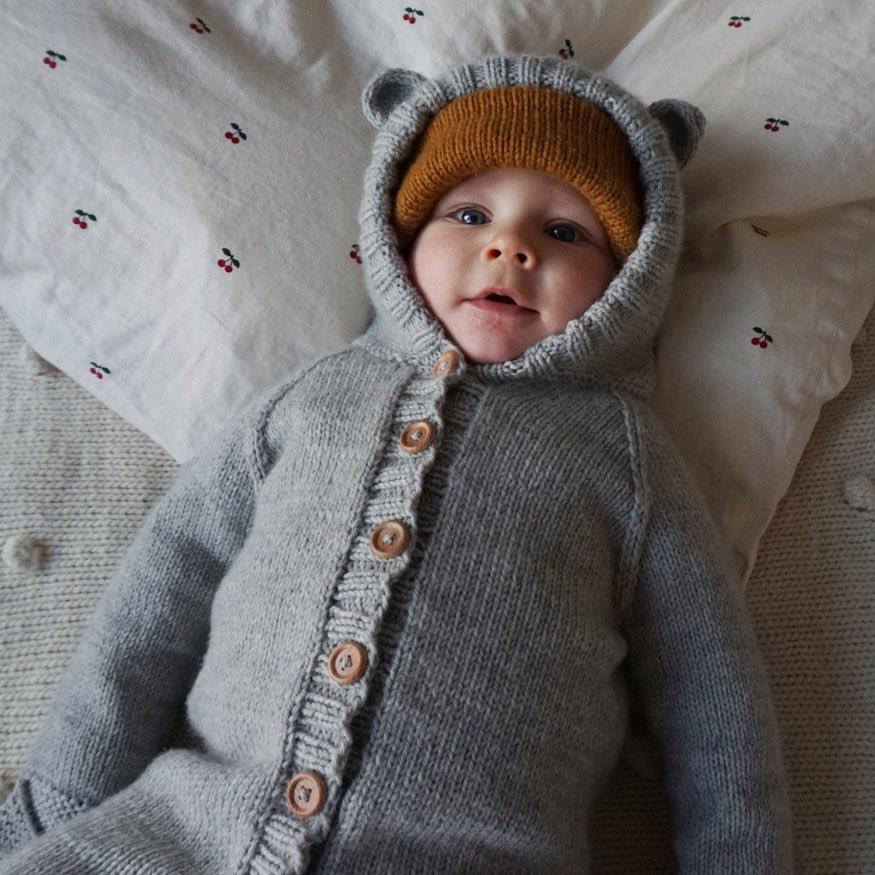 bamsedress baby mønster