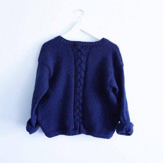 Alba genser strikkeoppskrift