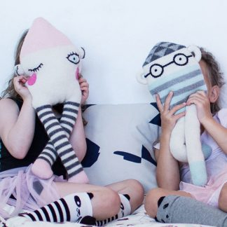 Knitted toy kidsdesign stuffed animal
