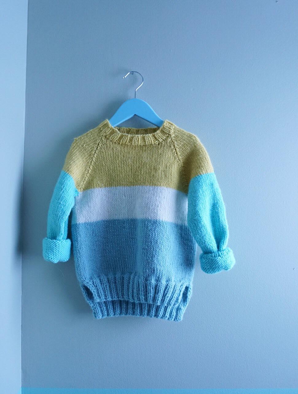 strikkegenser gutt