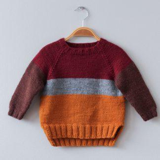 strikkeoppskrift barnegenser