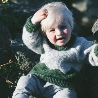 easy knit pattern kids