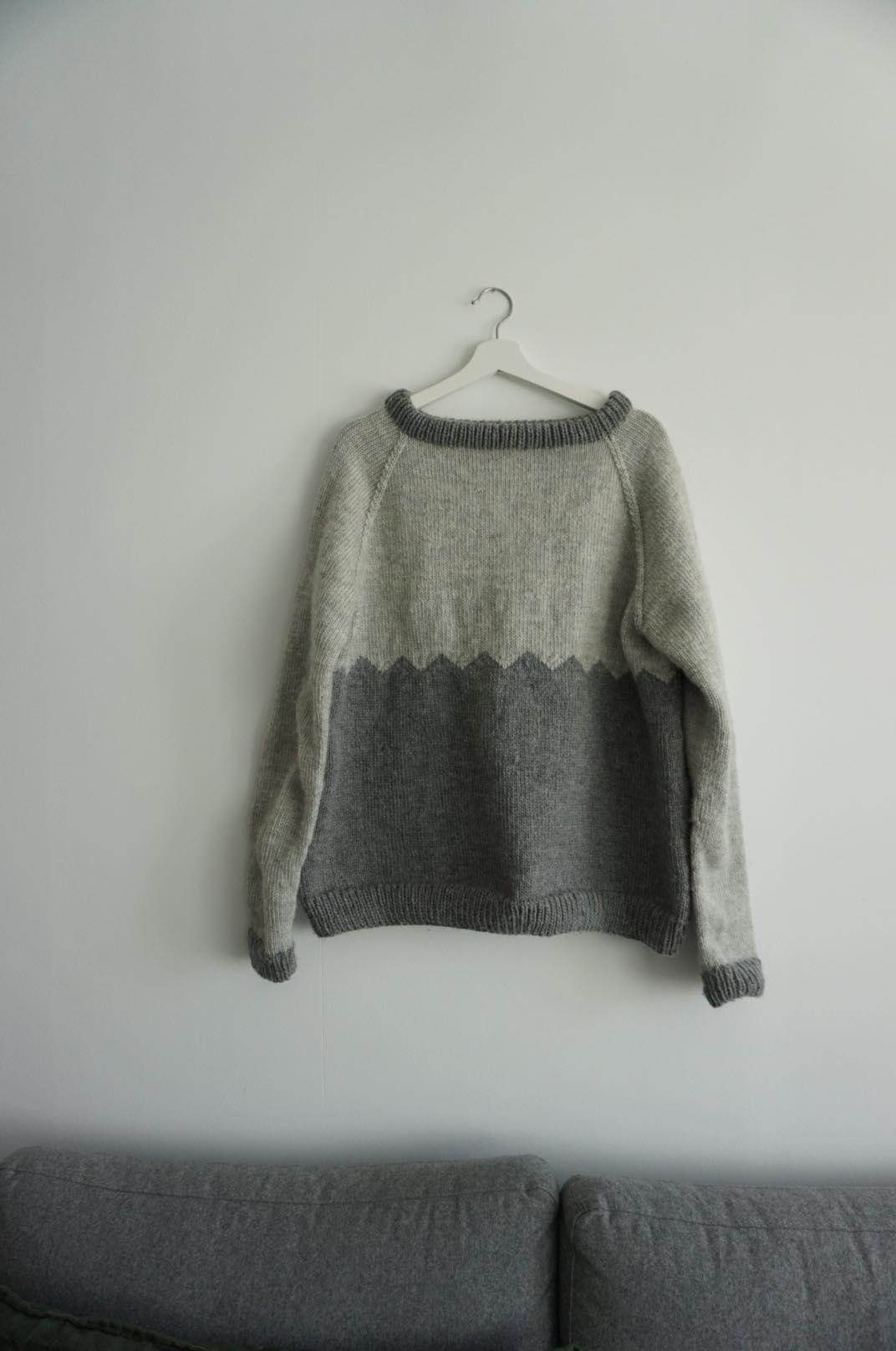 enkel genser til herre