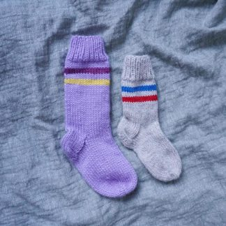 enkel sokkeoppskrift barn