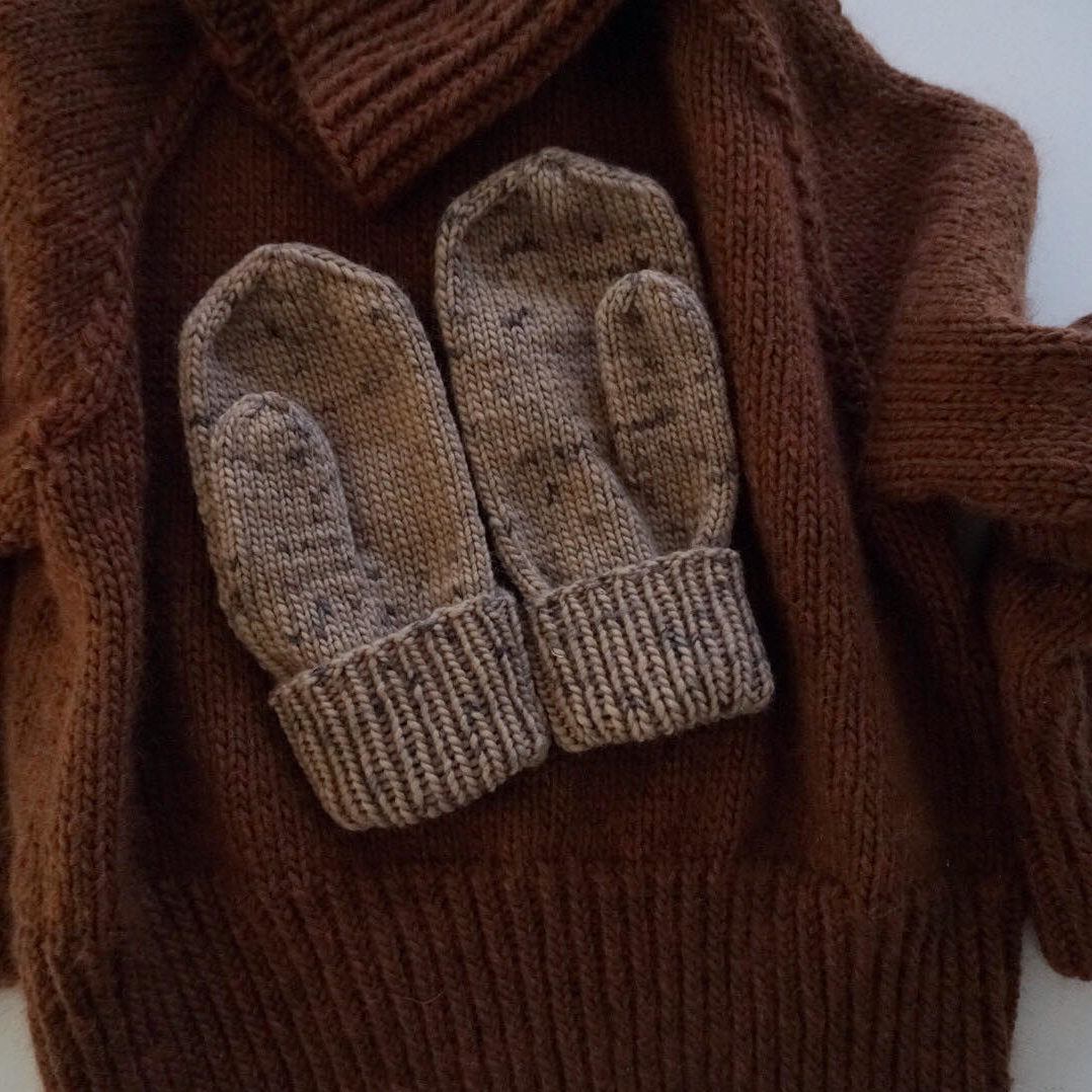 easy knitting pattern mittens