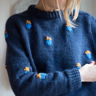 knitting pattern womens sweater