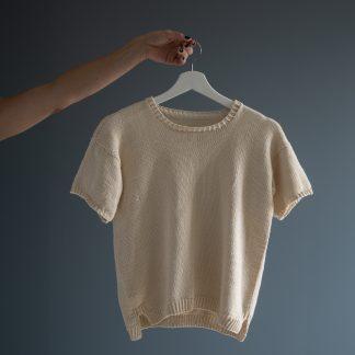strikkeoppskrift tskjorte