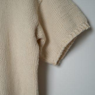 Sommerstrikk bomull tskjorte