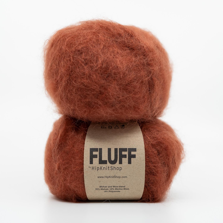 autum red yarn