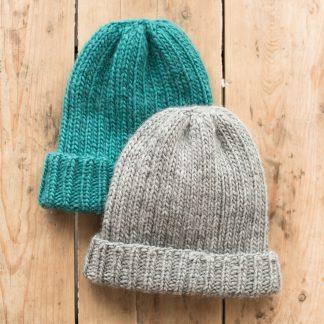 strikket lue strikkeoppskrift knittingpattern