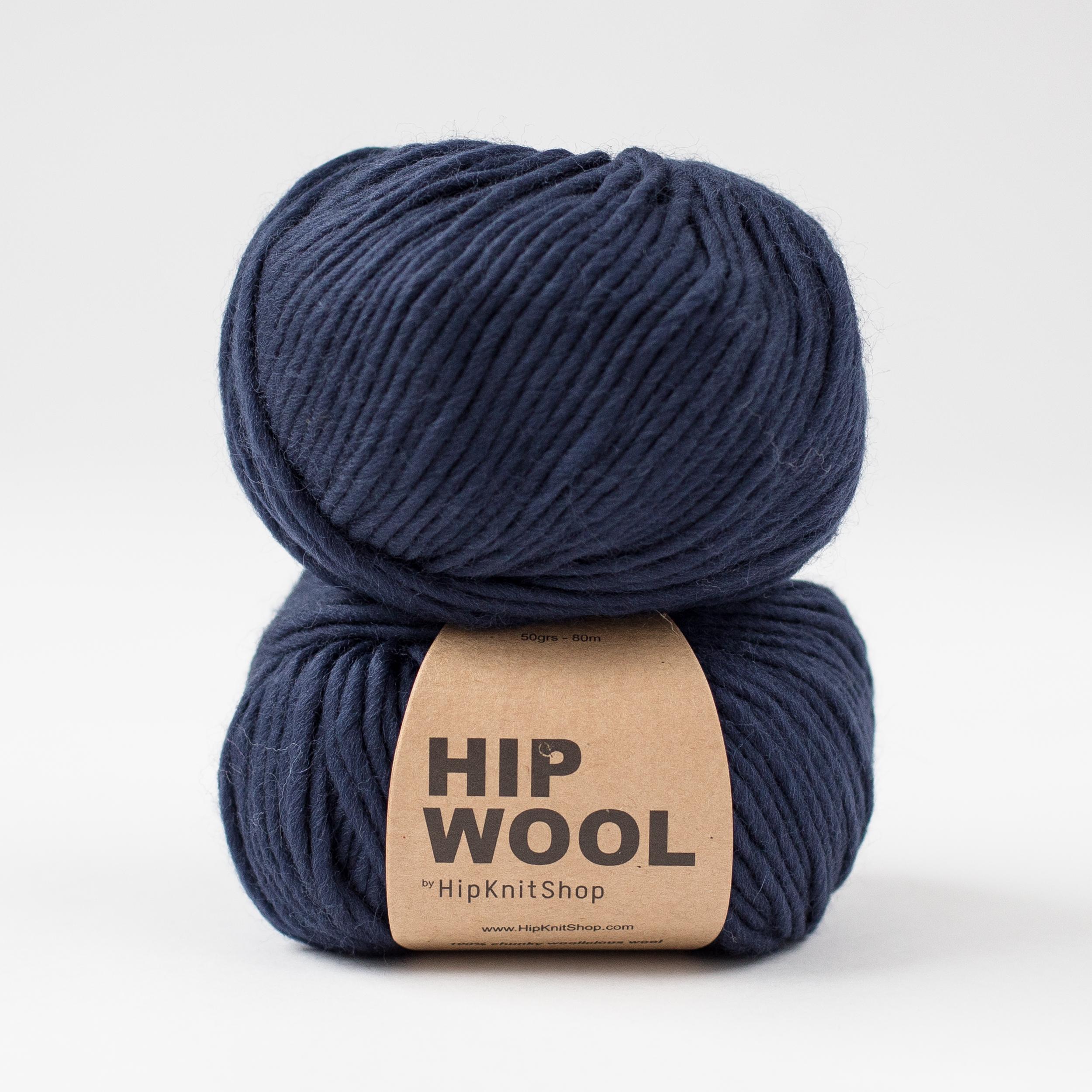 Hip Wool – 100 % wool yarn