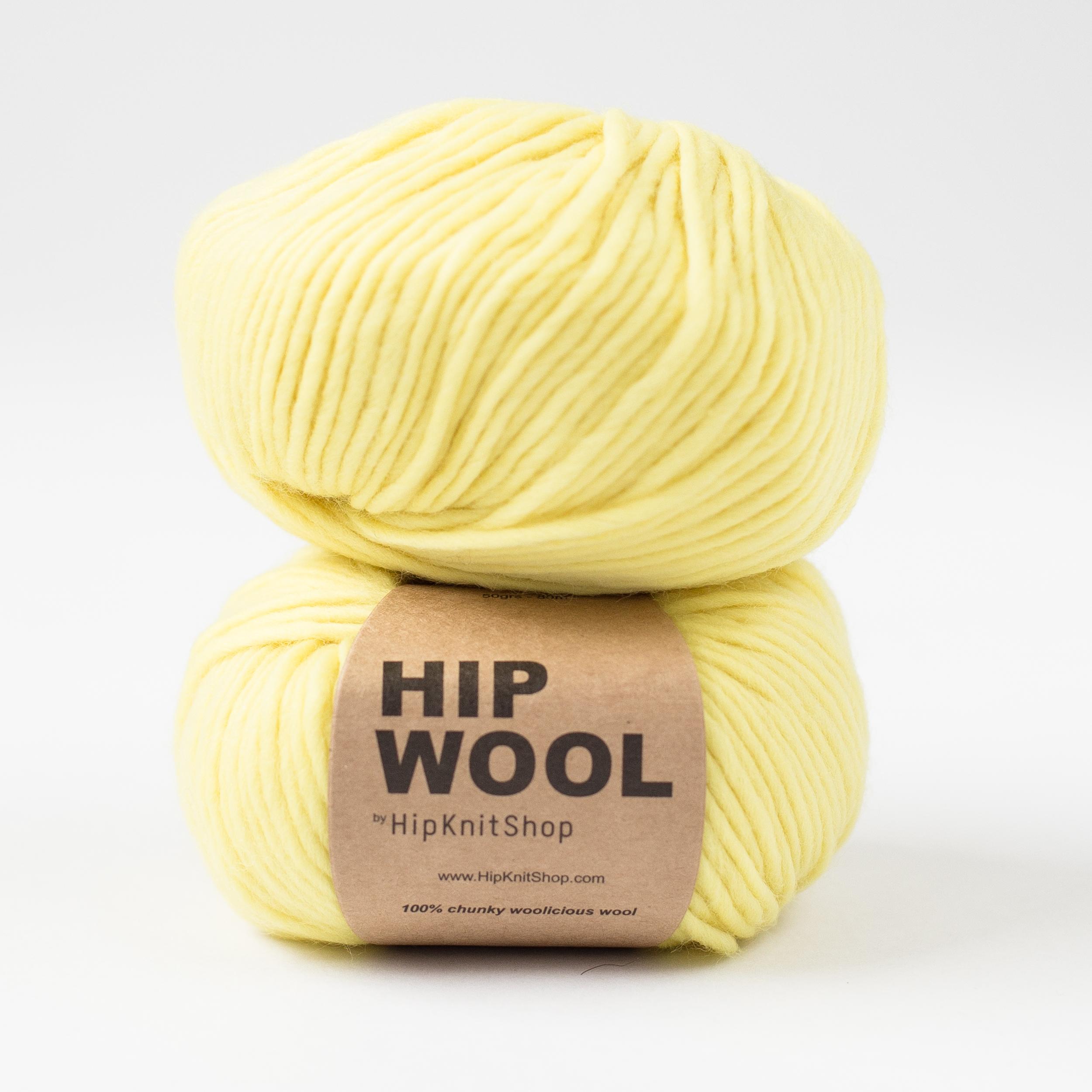Hip Wool yellow