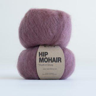 Hip mohair yarn