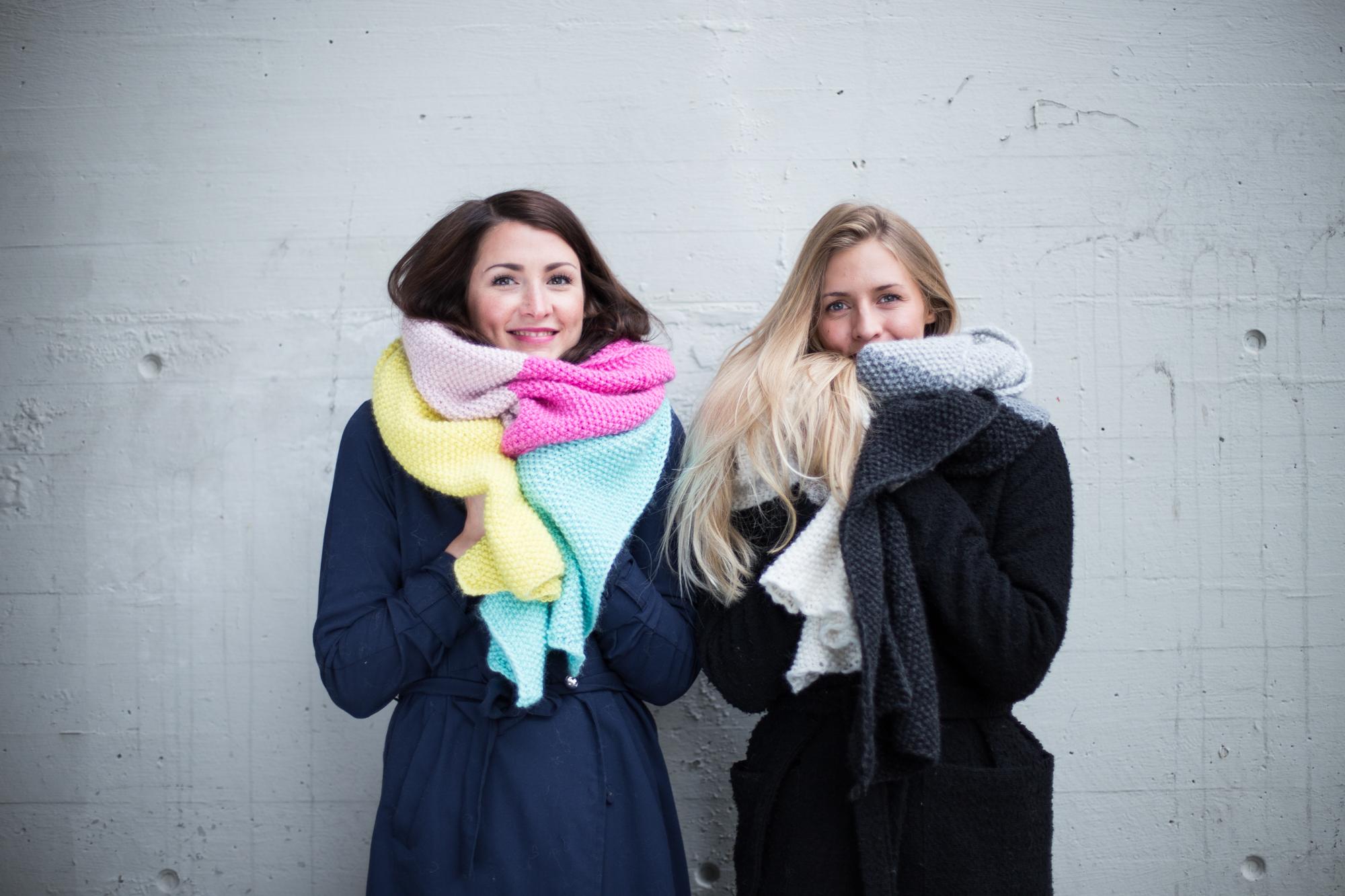 bergen strikkefestival, fargefest, festivalmote hipknitshop, knitted scarf, knitted fashion, women