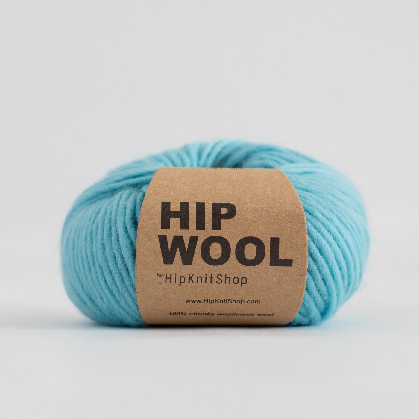 hip wool knitting kit