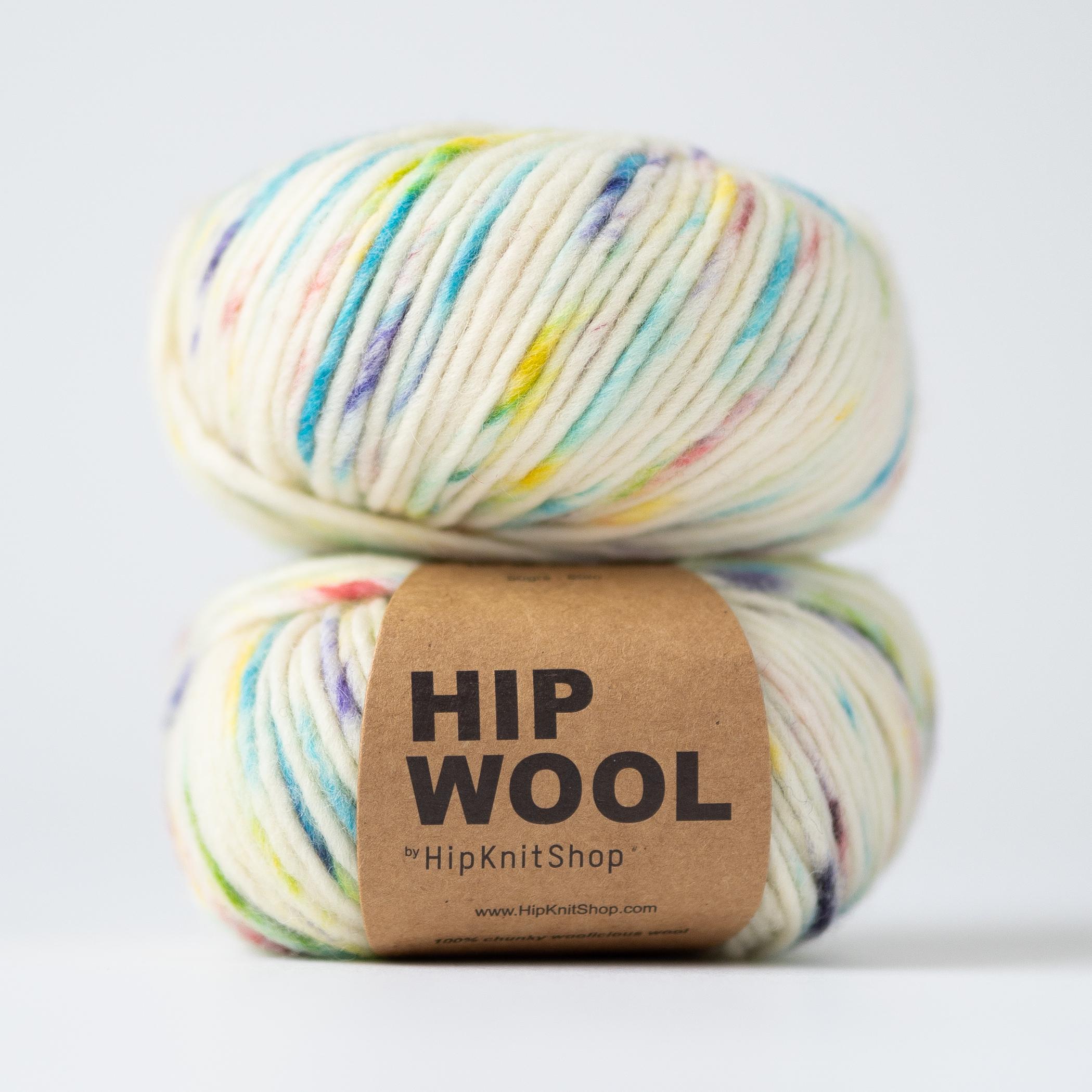 sprinkle yarn handmade