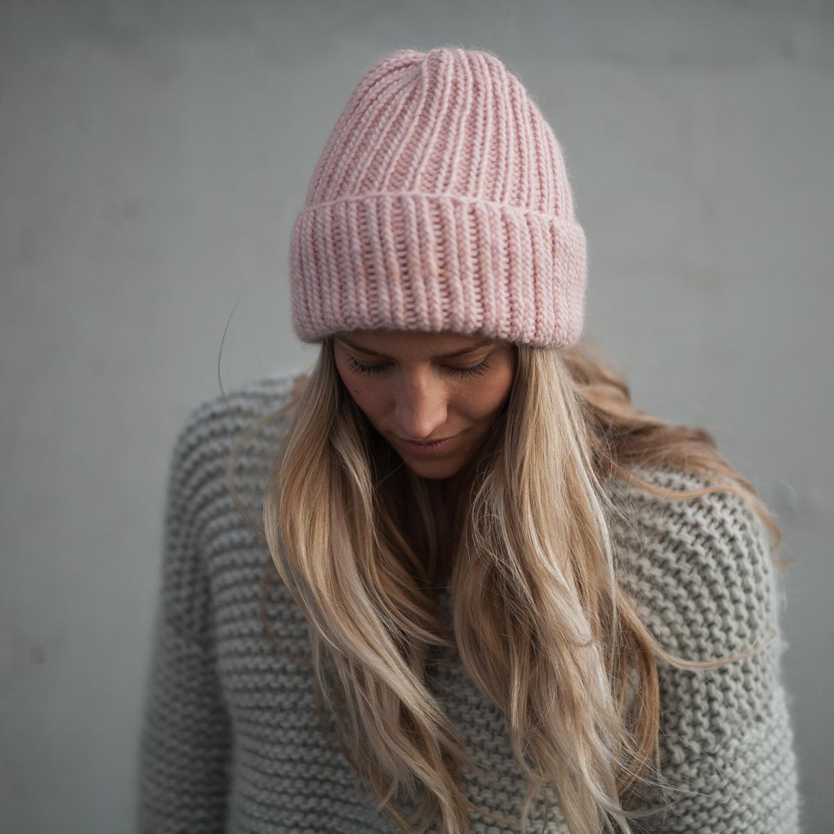 easy beanie knitting pattern