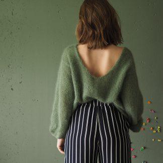 v back sweater pattern