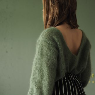 mohair sweater wide fit pattern