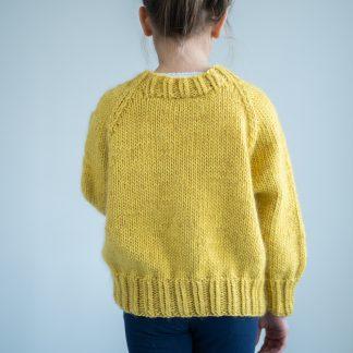 girl sweater knitting pattern