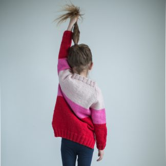 knittingpattern kids raglan cardigan