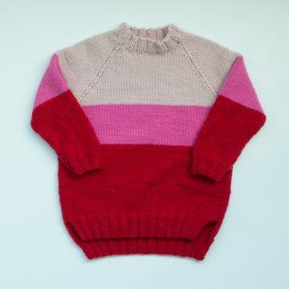 knitting pattern kids raglan sweater