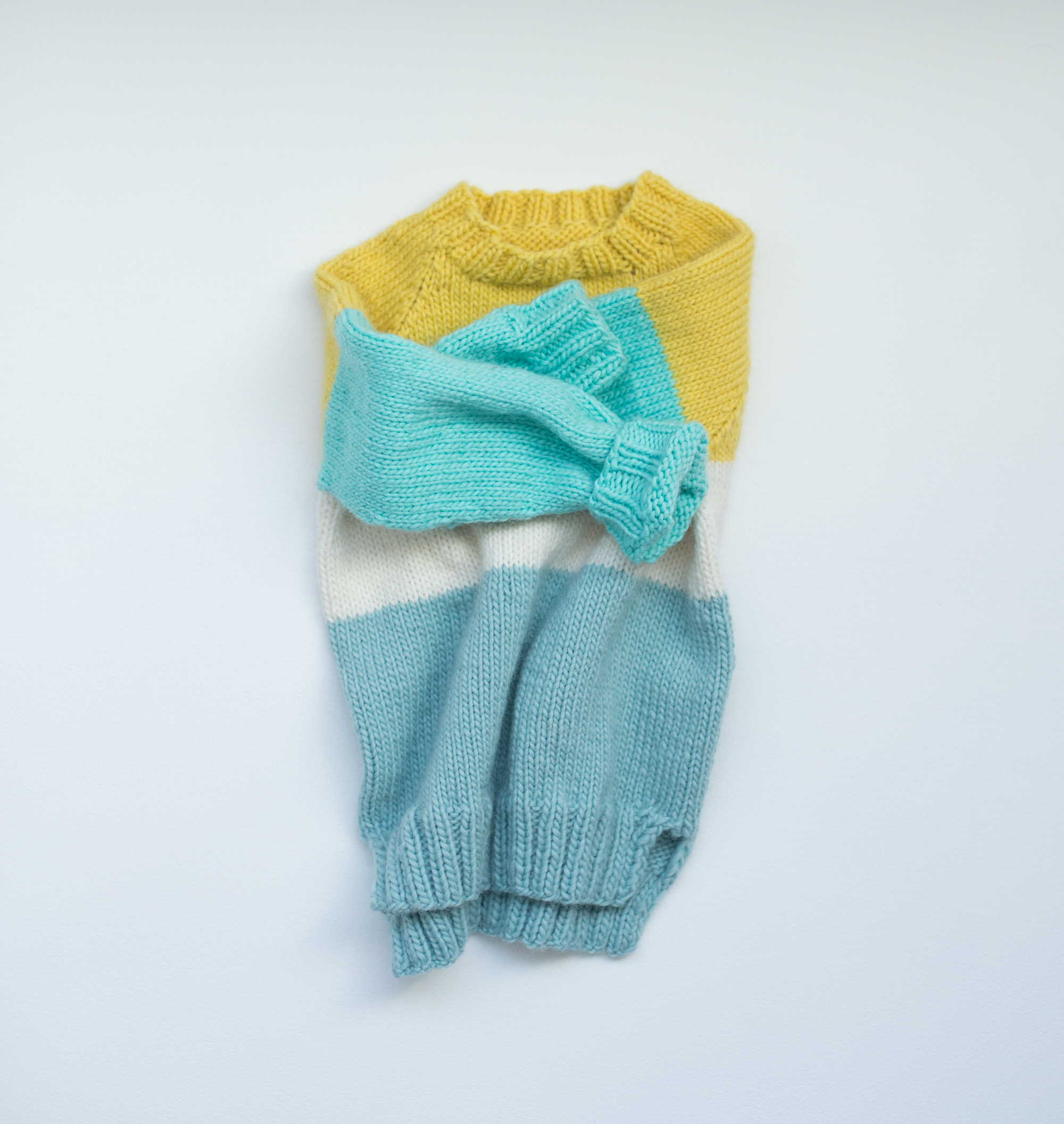 strikkeoppskrift genser barn raglan