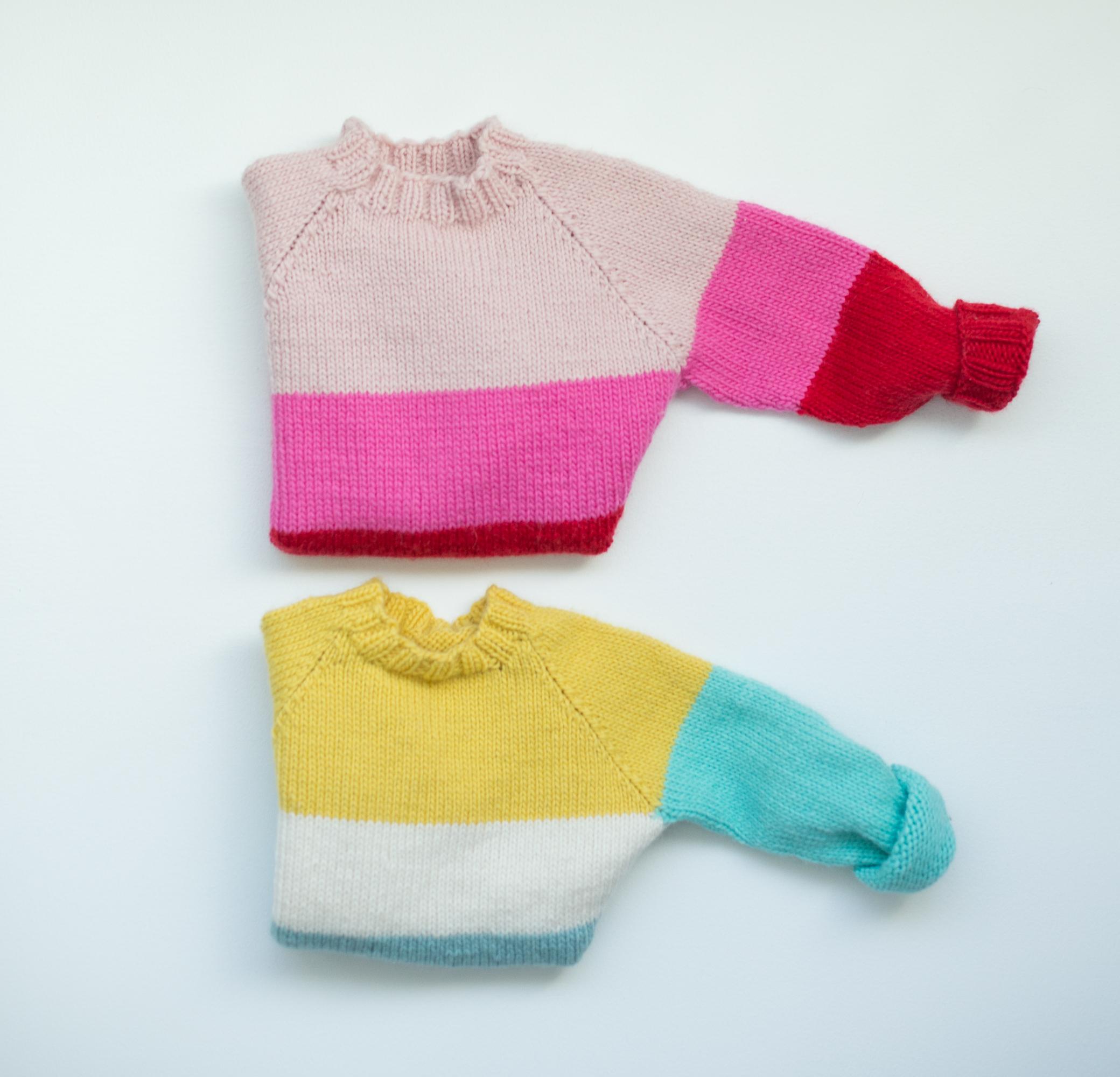 knitting kids sweater