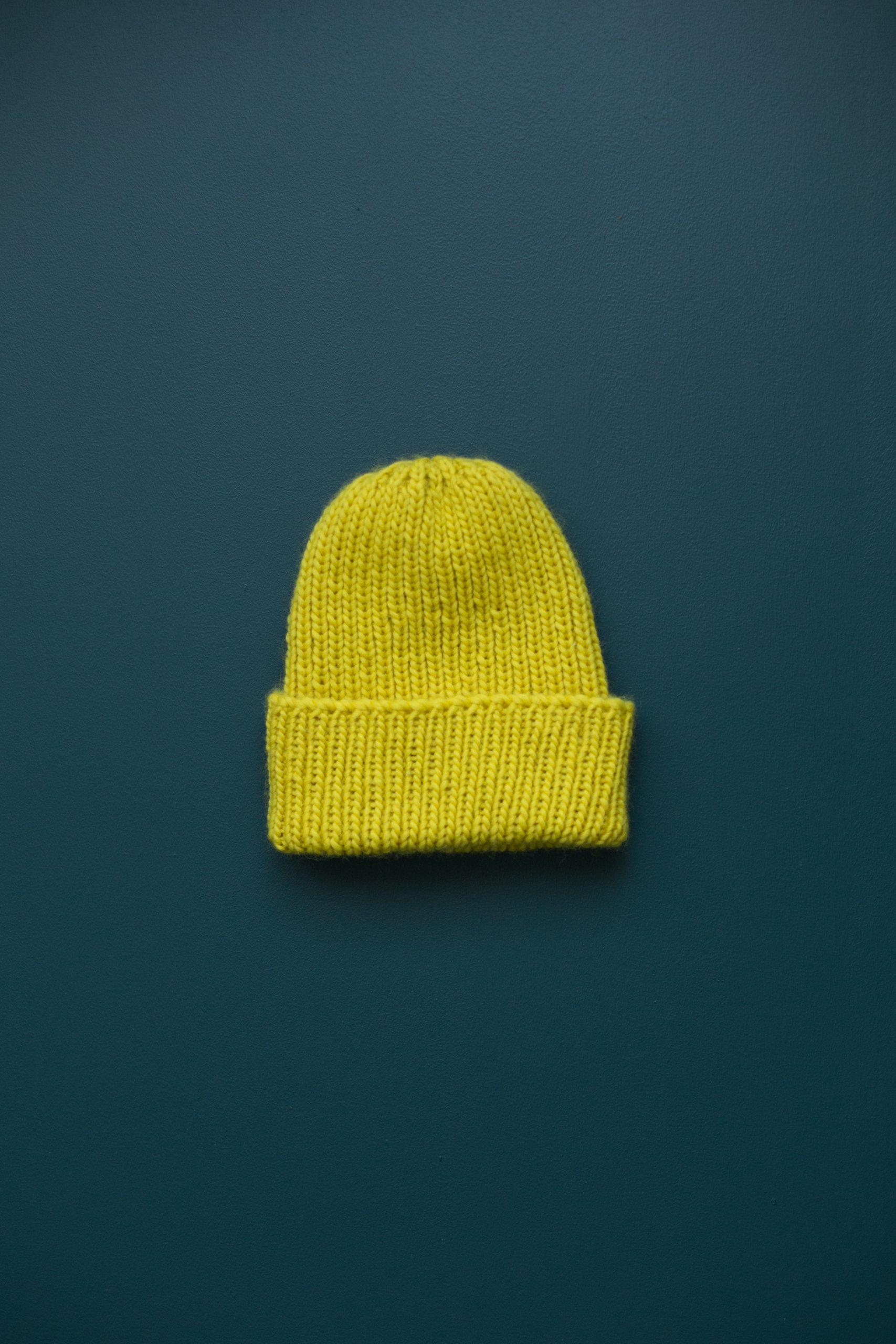 knitting pattern knitting kit beanie