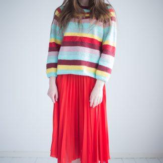 summerknit sweater women knitting pattern webshop