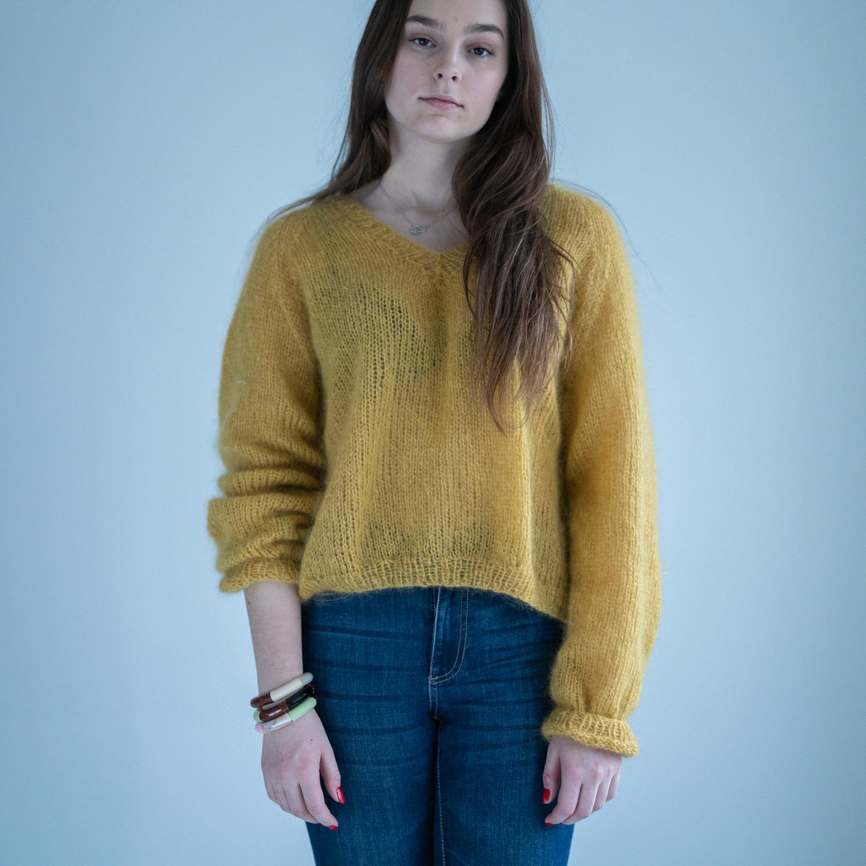 v-neck sweter pattern