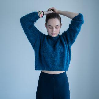 knitting pattern sweater women