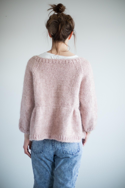 strikkejakke dame oppskrift