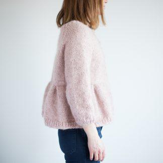 strikkeoppskrift på nett jakke dame