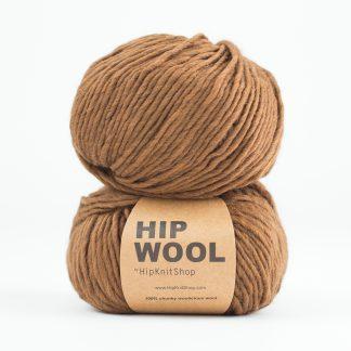 kanel brun hip wool