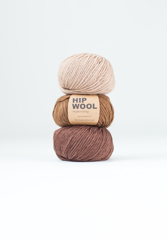 brown colors wool
