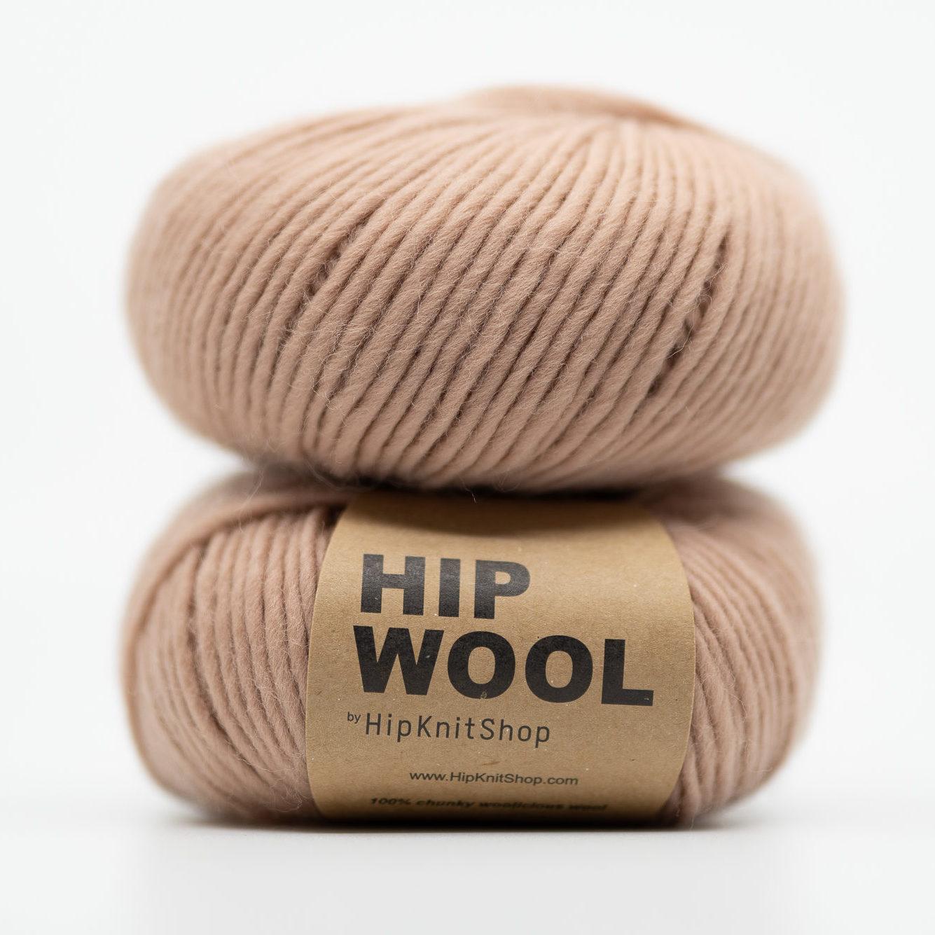 nude colored yarn