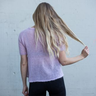 knitted tee / top