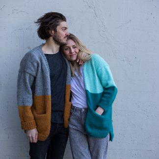Parkenstrikk, Knittingpattern , strikkeoppskrift PDF, Hip wool, festival jacket, strikkeoppskrift dame