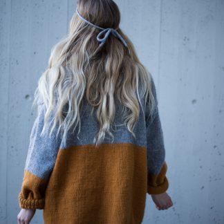 Parkenstrikk, Knittingpattern , strikkeoppskrift PDF, Hip wool, festival jacket, strikkeoppskrift dame, festival mote