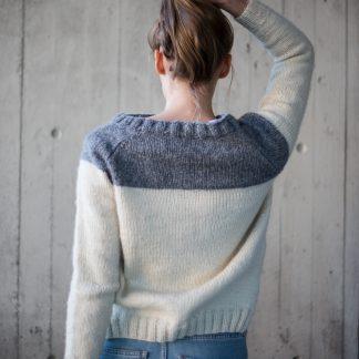 Knittingpattern , strikkeoppskrift PDF, Hip wool, Lola genser, strikkeoppskrift dame