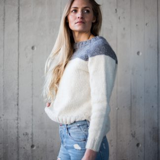 Lola sweater knitting kit / strikkeoppskrift genser dame