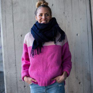 knitting pattern sweater women raglan