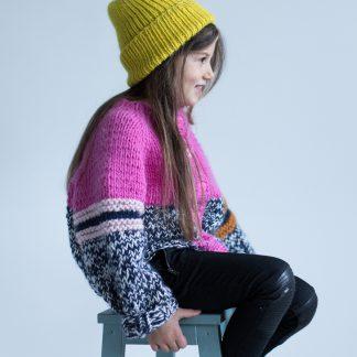 knitted benie pattern
