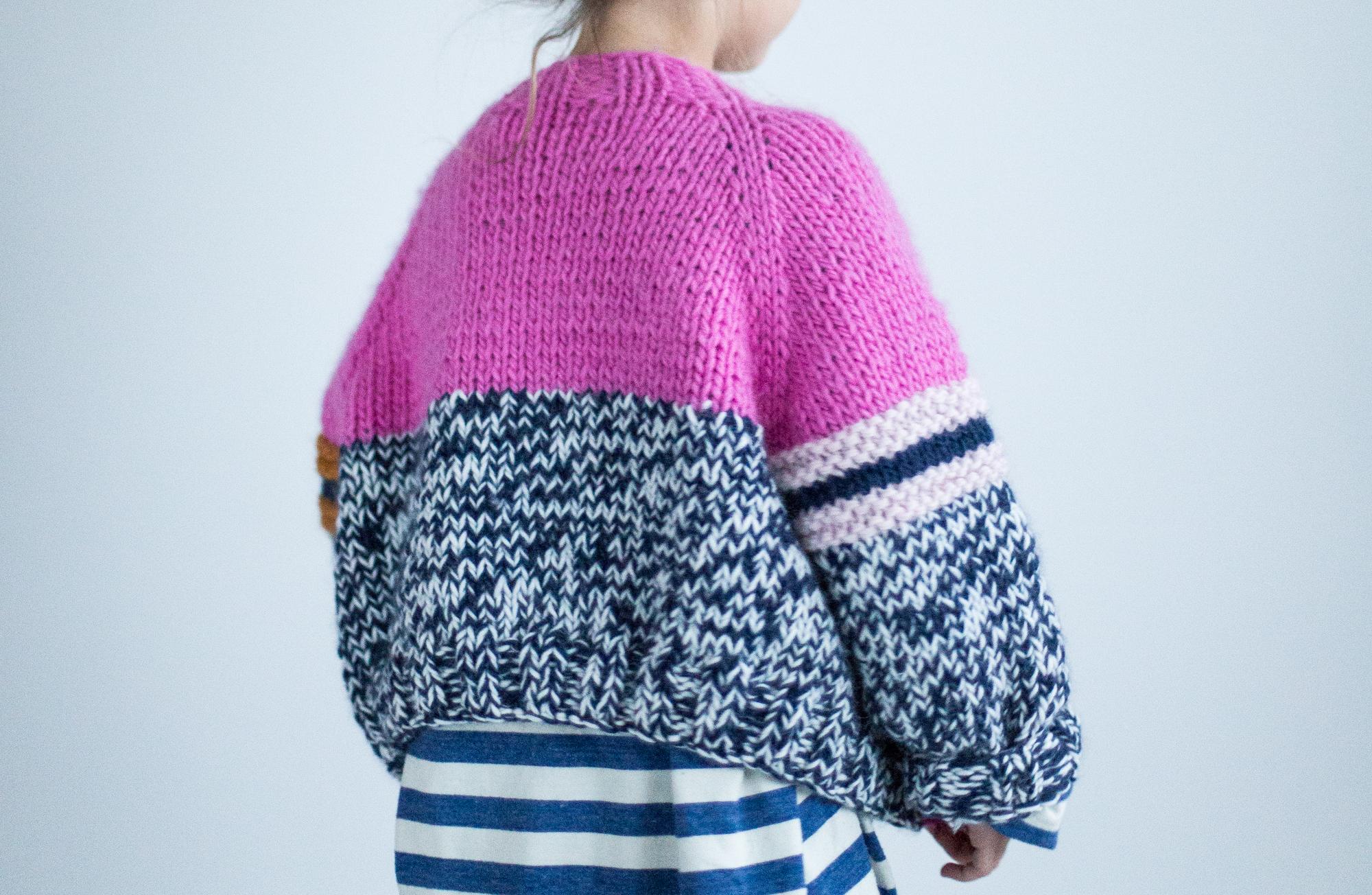 girls cardigan knitting pattern