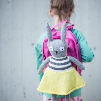 knitting pattern bunny toy