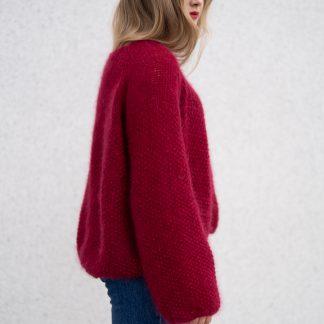strikkegenser dame oppskrift