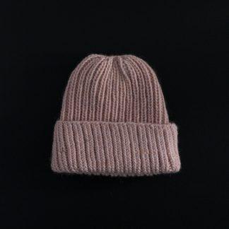 strikkeoppskrift lue dame