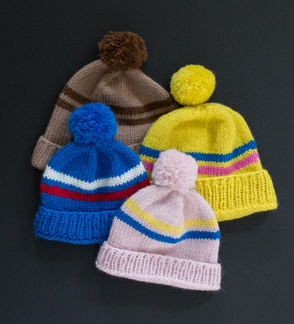 beanies knittingpattern