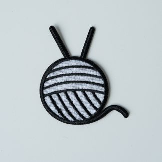 knitters supplies patch